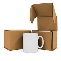 Bespoke Mug Packaging for Promotional Mugs - Mailing Boxes
