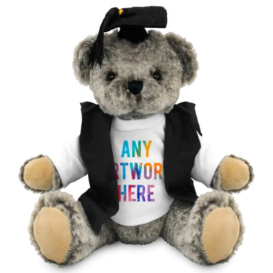 20cm Archie Jointed Bear with Graduate outfit