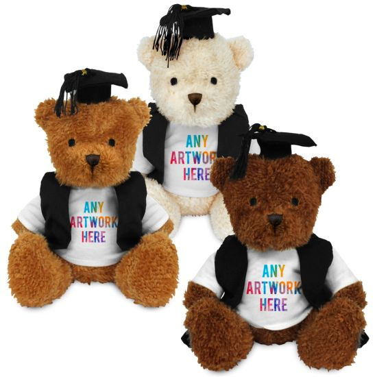 18cm James Bear with Graduate outfit
