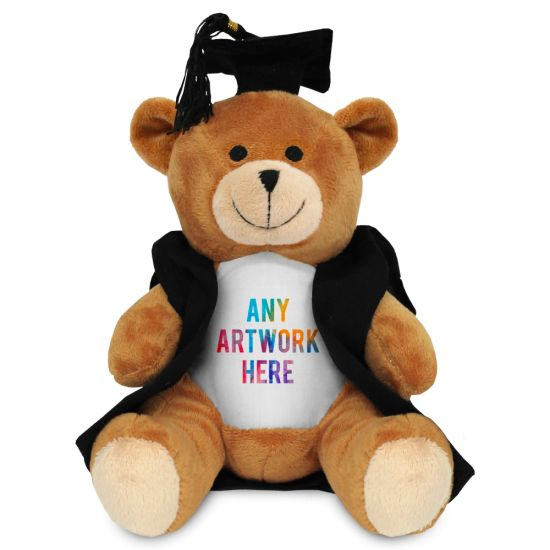 17cm Philip Bear with Graduate outfit