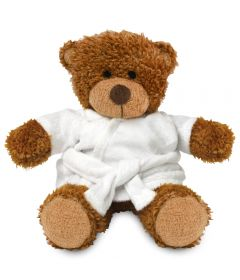 Blank Sublimation 17cm Anne Bear with Dressing Gown