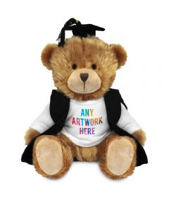 20cm Charles Jointed Bear with Graduate outfit