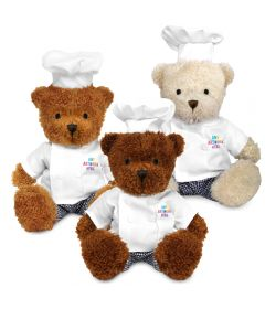 18cm James Bear with Chef Outfit