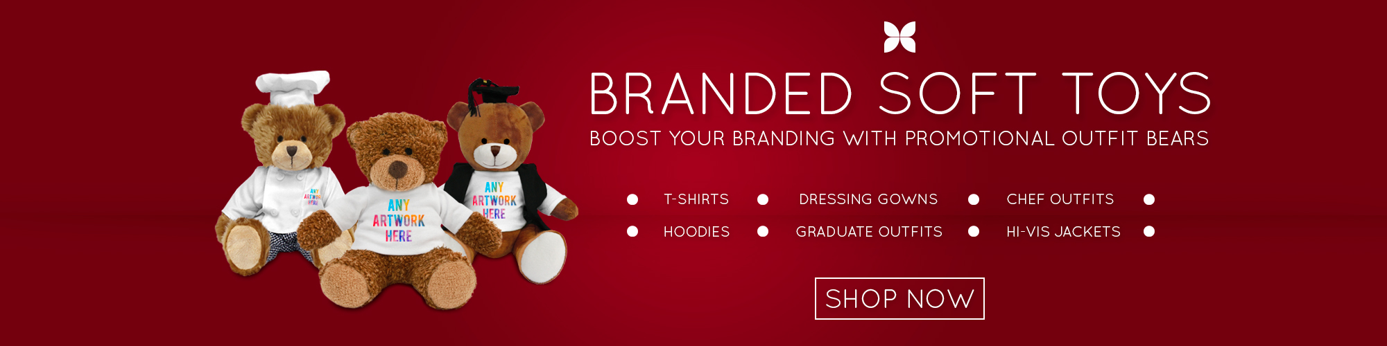 Promotional Products | Branded Outfit Bears - Boost your Branding with Promotional Outfit Bears
